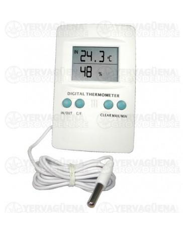 Termohigrometro digital con sonda Cornwall Electronics