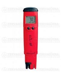 Medidor de pH y temperatura Hanna