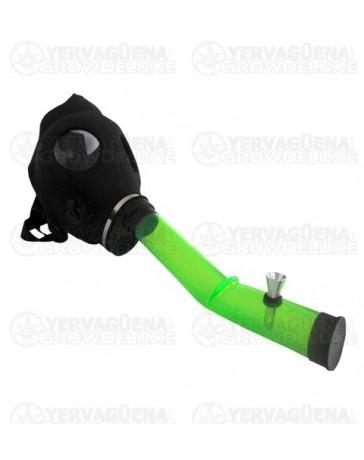 Pipa bong mascara de gas
