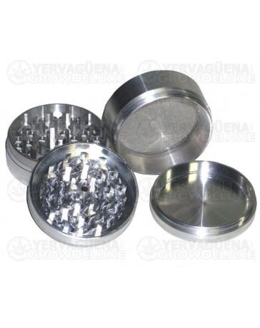 Grinder de aluminio con polen