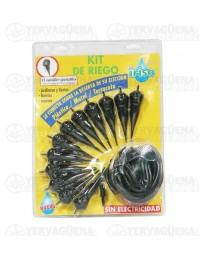Kit de riego goteo ajustable Iriso