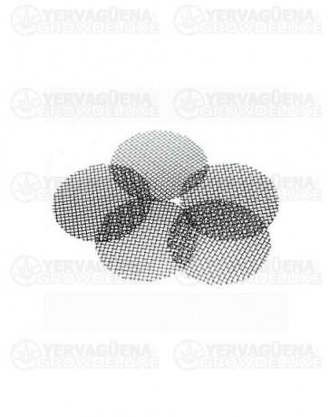 Filtro de rejilla metalico para pipas