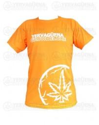 Camiseta transpirable naranja Yervaguena