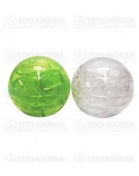Grinder Bola de plastico transparente