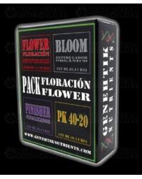 Pack abonos Floracion Genehtik