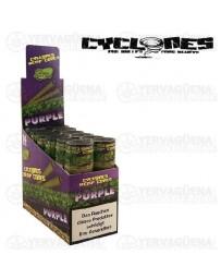 Cyclones Hemp Cones Purple