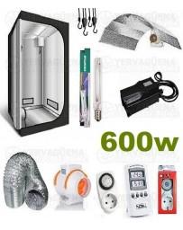 Kit Armario Completo 120x120x200 600w Sodio