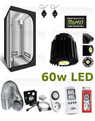 Kit Armario Completo 60x60x140 60w LED