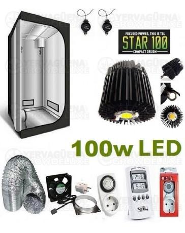 Kit Armario Completo 60x60x140 100w LED