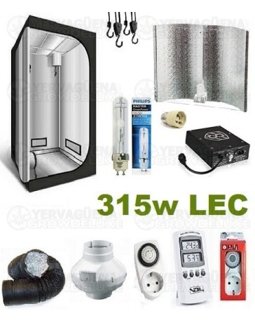 Kit Armario Completo 120x120x200 315w LEC