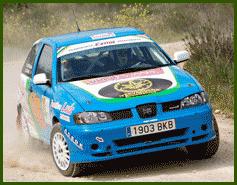 Equipo de Rally patrocinado por Yervagüena