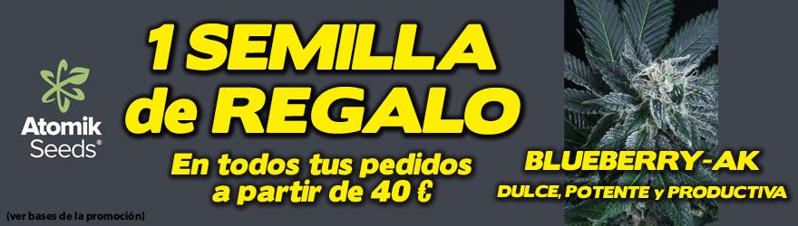 1 semilla gratis por pedidos superiores a 40€