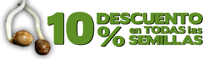 10% de descuento en todas las semillas