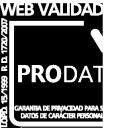Web validada por prodat