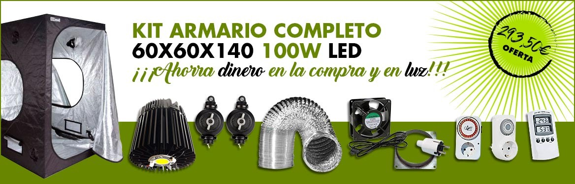 Kit Dark Box 60 100w LED