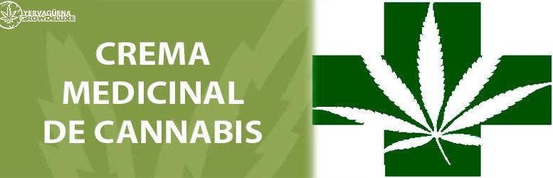 Crema de marihuana para uso terapéutico