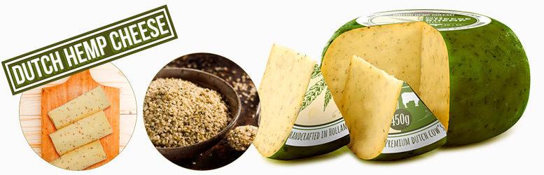 Hempseed cheese, el queso holandés con semillas de cañamo