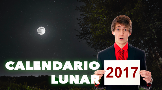 Calendario Lunar 2017 | ¡Cultivos de Marihuana de 10!