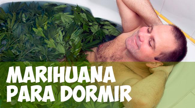 Marihuana para combatir el insomnio