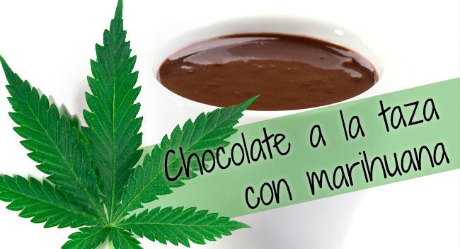 Chocolate a la taza con marihuana