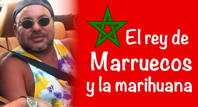 rey Marruecos marihuana