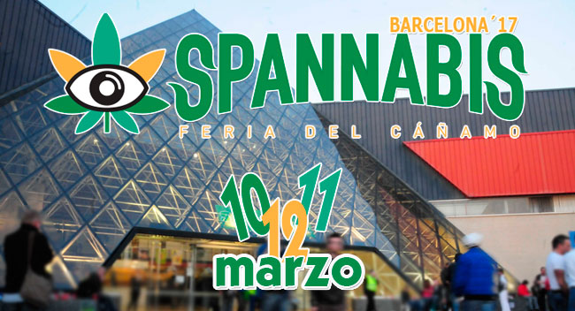 Spannabis 2017 en Barcelona, ¿vas a ir?