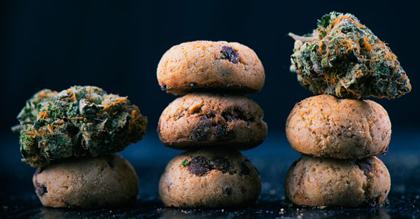 galletas de cannabis marihuana