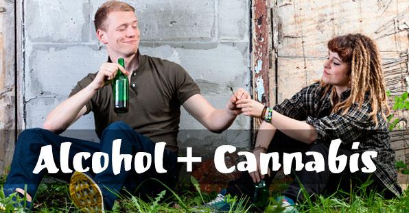 ¿Es una mezcla explosiva la marihuana y el alcohol?