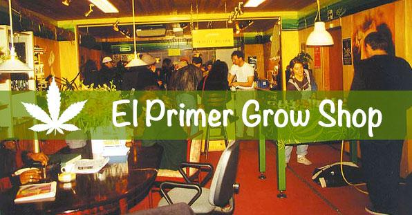 El primer grow shop del mundo