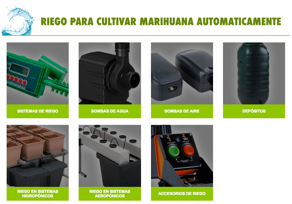 Irrigation accessories for crops
