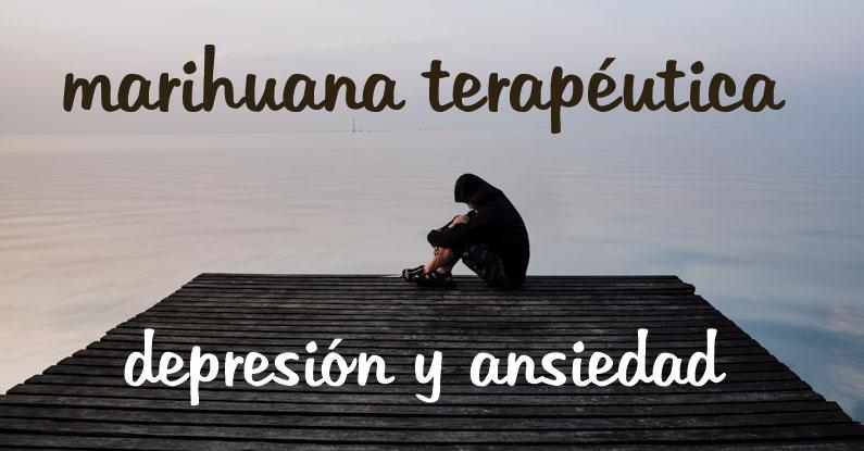 Marihuana para combatir la depresión y la ansiedad