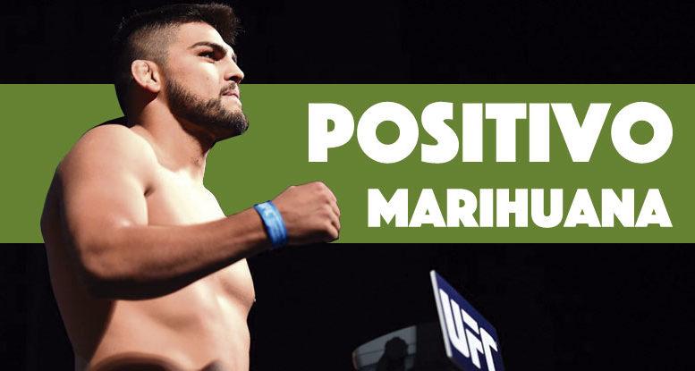 Luchador de la UFC positivo por marihuana