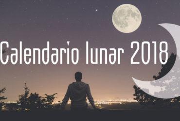 Ya puedes consultar los eventos en nuestro Calendario lunar de 2018