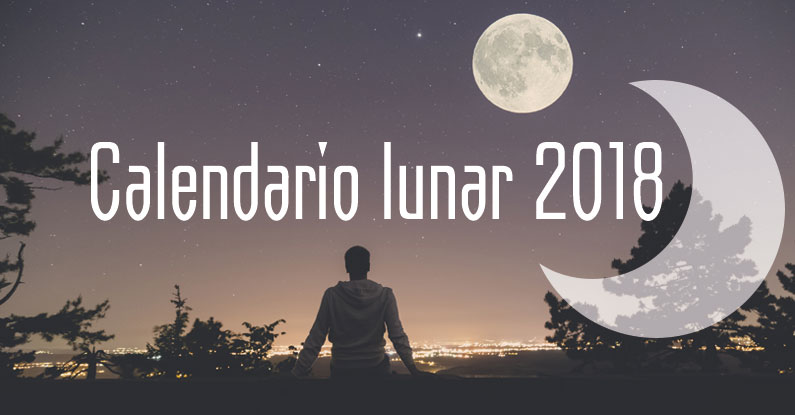 disponible calendario lunar 2018